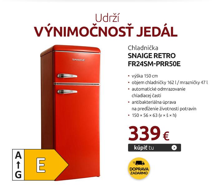 Chladnička Snaige Retro FR24SM-PRR50E