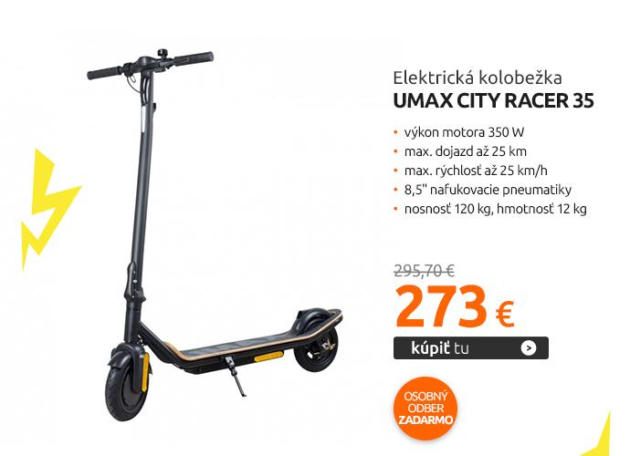 Elektrická kolobežka Umax City Racer 35