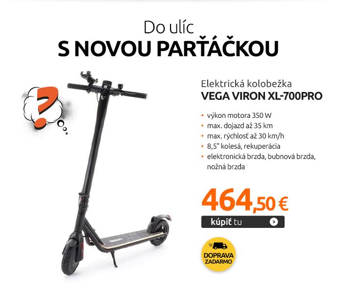 Elektrická kolobežka VeGA VIRON XL-700PRO