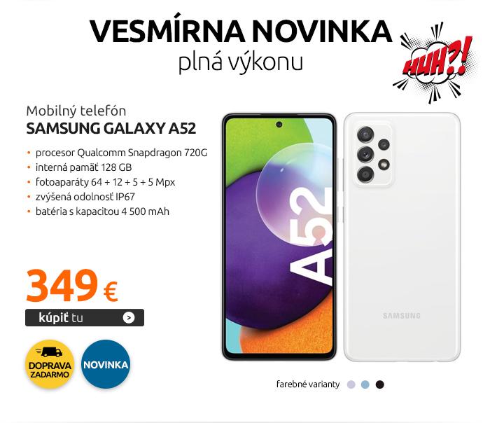 Mobilný telefón Samsung Galaxy A52
