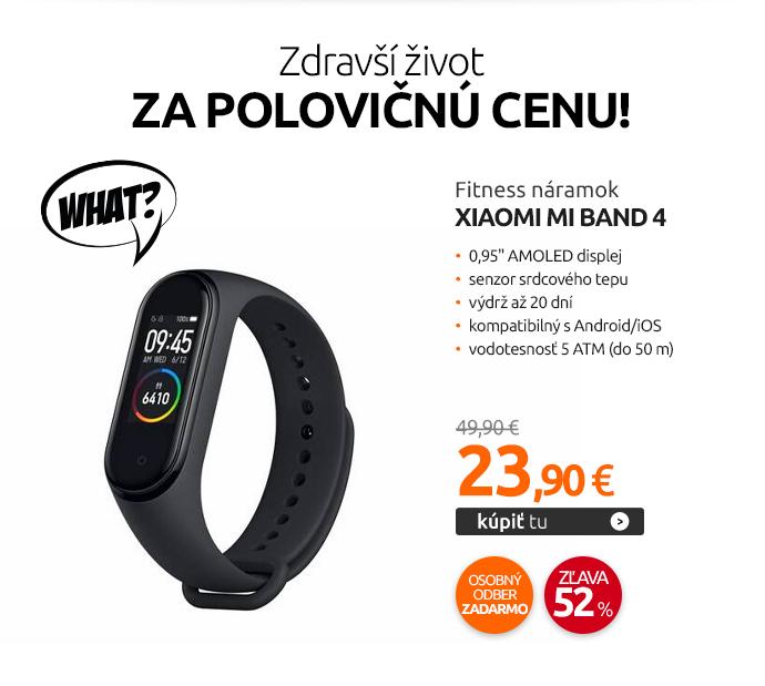 Fitness náramok Xiaomi Mi Band 4