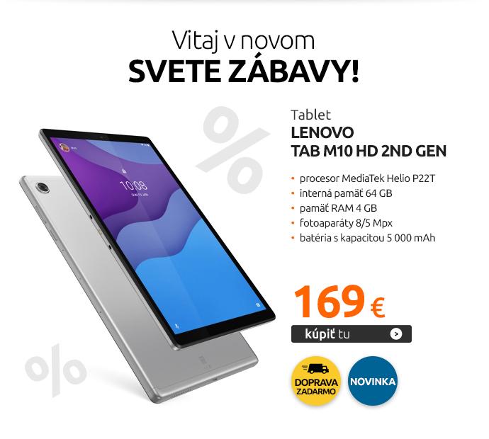 Tablet Lenovo Tab M10 HD 2nd Gen