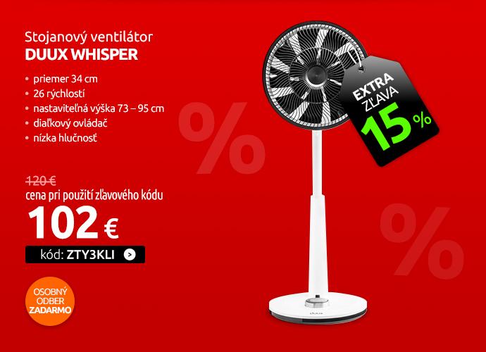 Stojanový ventilátor DUUX Whisper