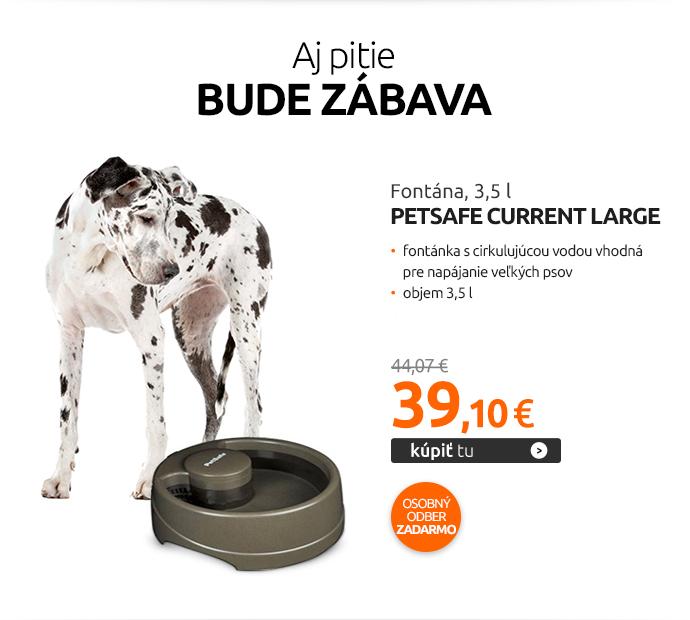 Fontána PetSafe Current Large, 3,5 l
