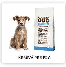 Krmivá pre psov
