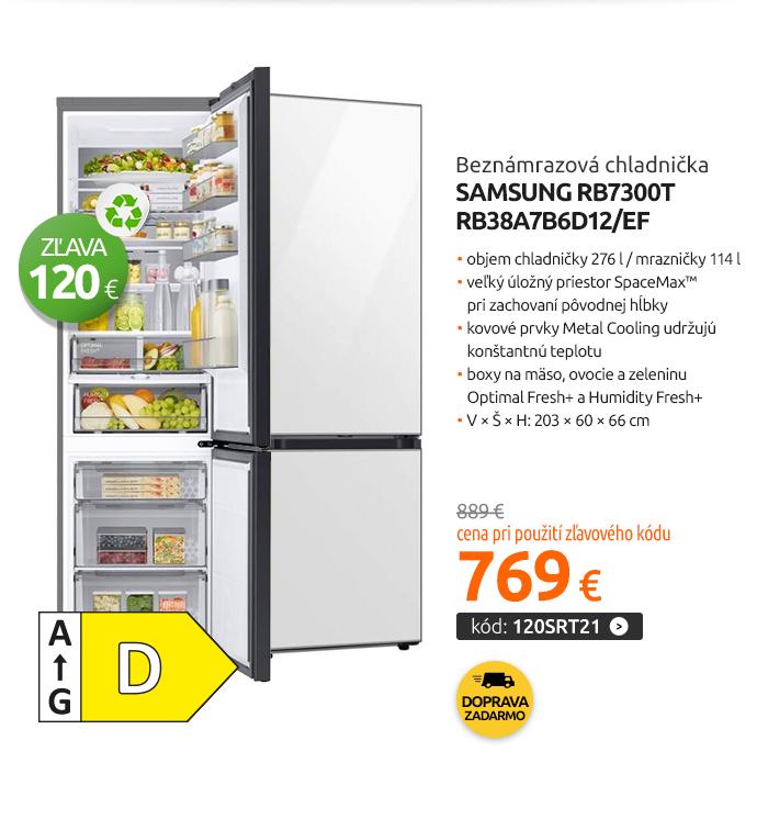 Beznámrazová chladnička Samsung RB7300T RB38A7B6D12/EF
