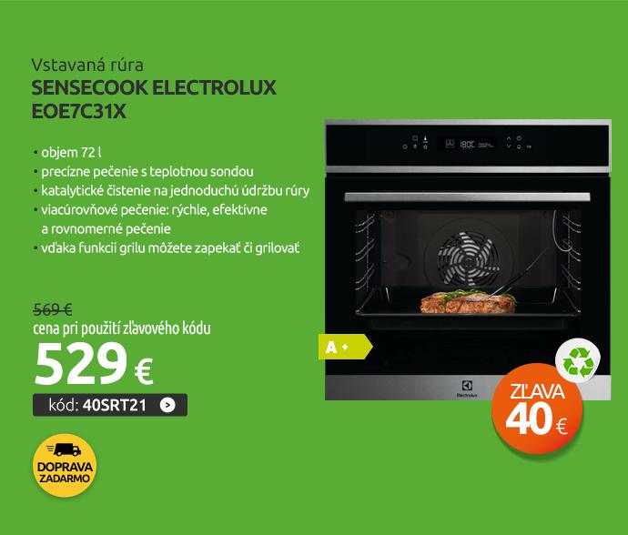 Vstavaná rúra SenseCook Electrolux EOE7C31X