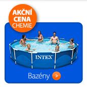 Bazény + akční cena na chemii