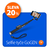 Selfie tyče GoGEN se slevou 20 %