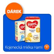 Kojenecká mléka Hami s dárkem