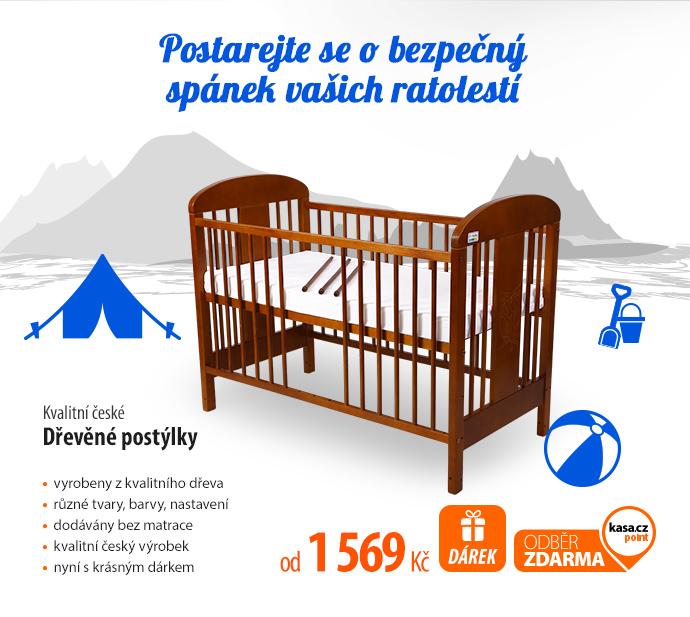 Kvalitní české dřevěné postýlky