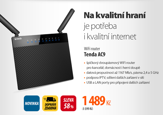 WiFi router Tenda AC9