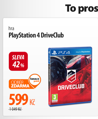 Hra PlayStation 4 DriveClub