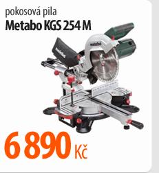 Pokosová pila Metabo KGS254M