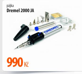 Pájka Dremel 2000 JA