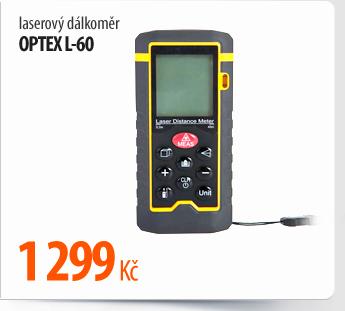 Laserový dálkoměr OPTEX L-60