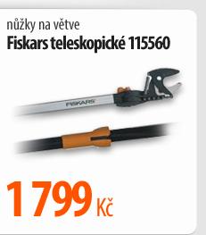 Nůžky na větve Fiskars teleskopické 115560