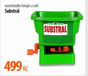 Rozmetadlo hnojiv a soli Substral