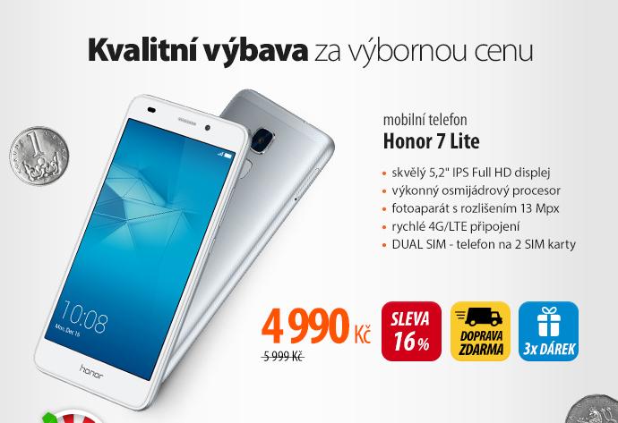 Mobilní telefon Honor 7 Lite