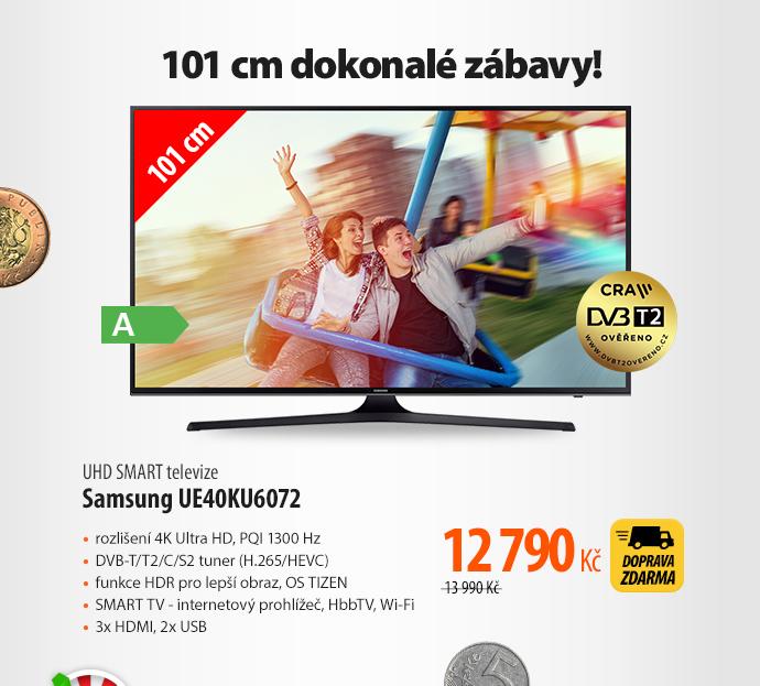 UHD SMART televize Samsung UE40KU6072