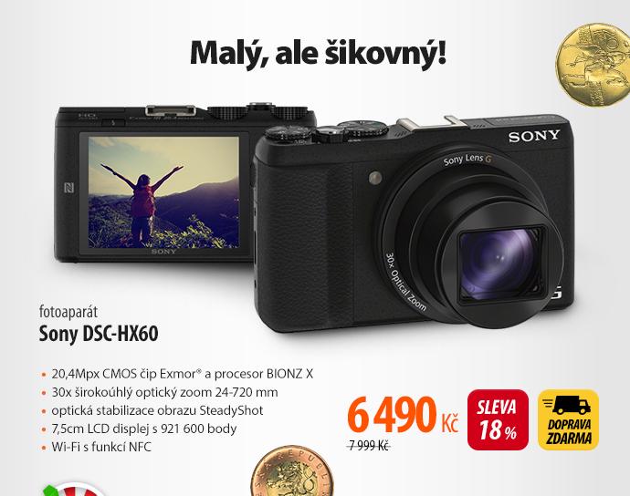 Fotoaparát Sony DSC-HX60