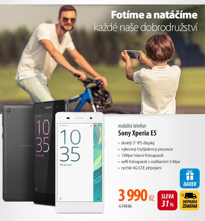 Mobilní telefon Sony Xperia E5
