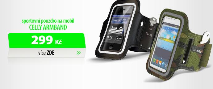 Sportovní pouzdro na mobil Celly Armband