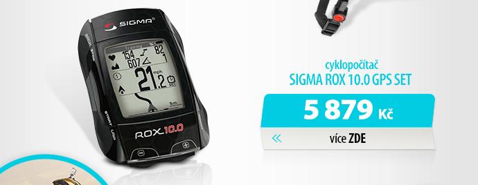 Cyklopočítač Sigma Rox 10.0 GPS Set černý