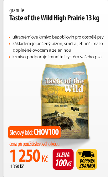 Granule Taste of the Wild High Prairie 13 kg
