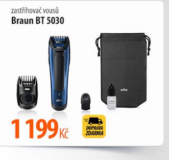 Zastřihovač vousů Braun BT 5030