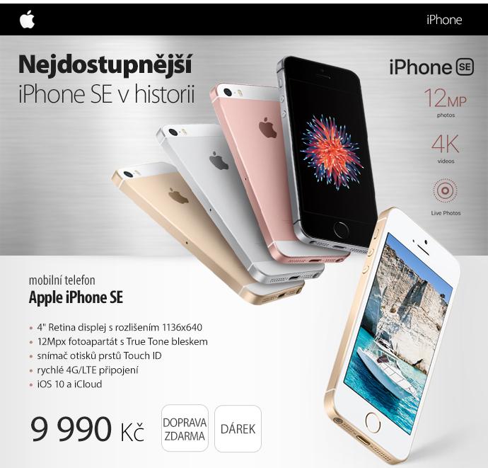 Mobilní telefon Apple iPhone SE