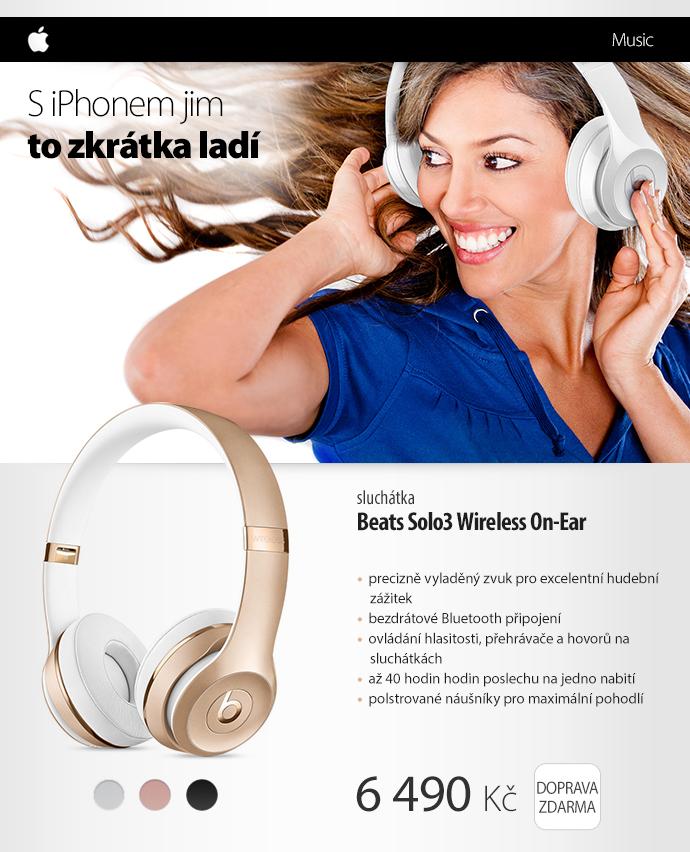 Sluchátka Beats Solo3 Wireless On-Ear