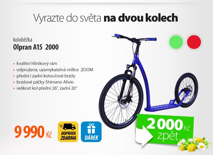 Koloběžka Olpran A15 2000