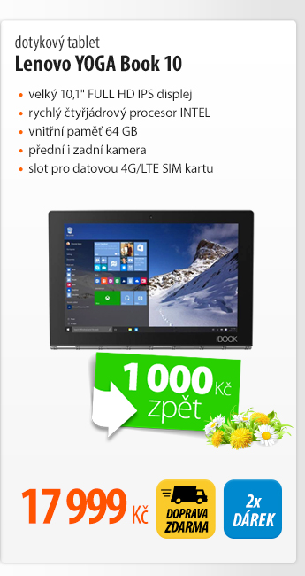 Dotykový tablet Lenovo YOGA Book 10