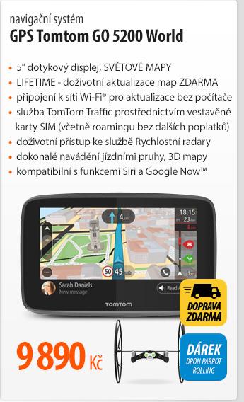 navigační systém GPS Tomtom GO 5200 World