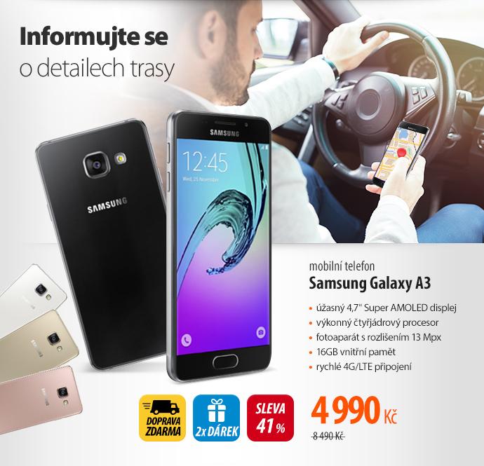 mobilní telefon Samsung Galaxy A3