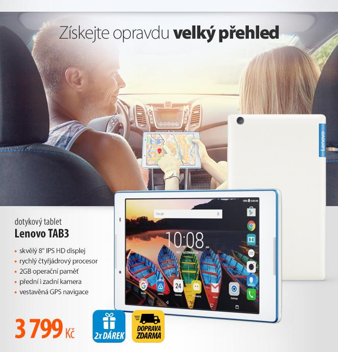 dotykový tablet Lenovo TAB3