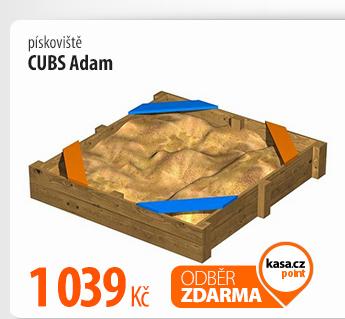 Pískoviště CUBS Adam