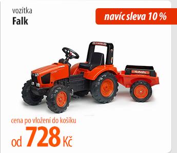 Vozítka Falk navíc sleva 10 %
