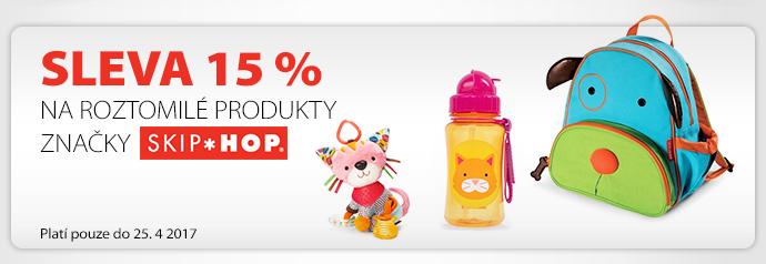 Sleva 15 % na roztomilé produkty značky SKIPHOPPlatí pouze do 25. 4 2017