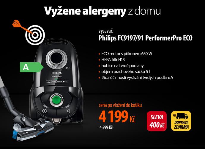 Vysavač Philips FC9197/91 PerformerPro ECO