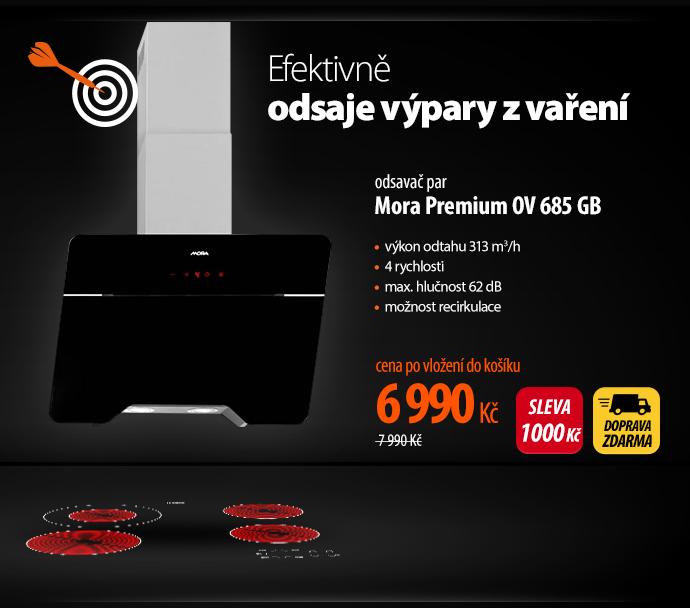 Odsavač par Mora Premium OV 685 GB