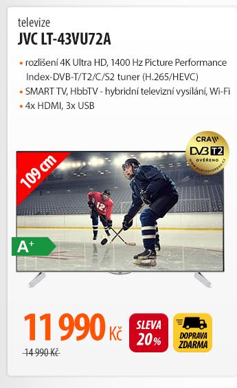 Televize JVC LT-43VU72A