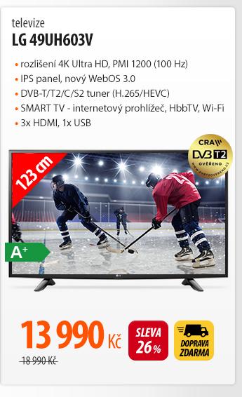 Televize LG 49UH603V