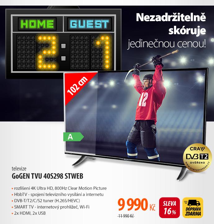 Televize GoGEN TVU 40S298 STWEB
