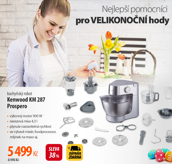 Kuchyňský robot Kenwood KM 287 Prospero