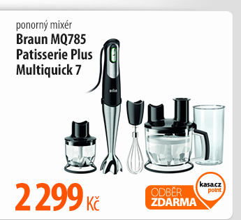 Ponorný mixér Braun MQ785 Patisserie Plus Multiquick 7