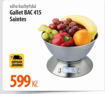 Váha kuchyňská Gallet BAC 415 Saintes