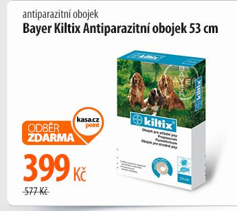 Antiparazitní obojek Bayer Kiltix 53 cm