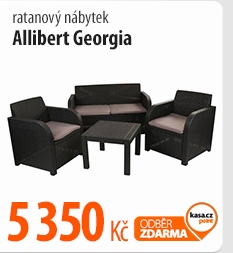 Ratanový nábytek Allibert Georgia